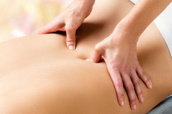Rückenmassage Schmerztherapie