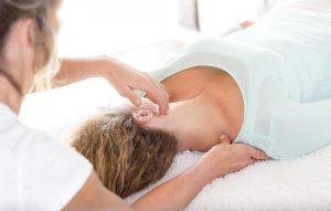 Schmerztherapie Fibromyalgie Stressbehandlung mit Akupressur