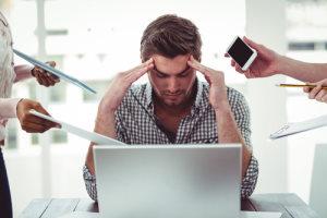 Stress abbauen in Stresssituationen